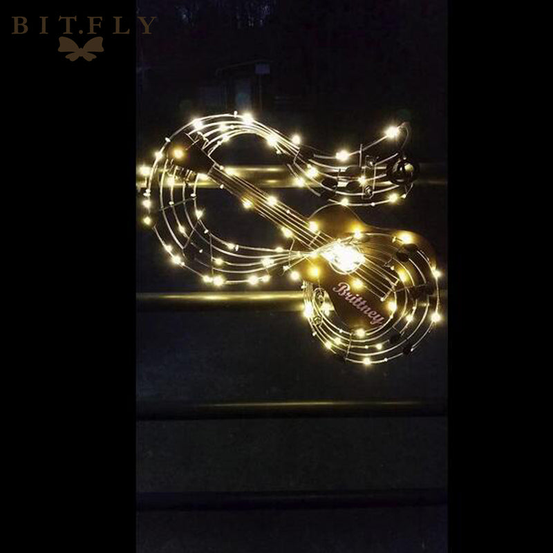 BIT.FLY 2M 20 Leds Christmas Lights String LED Copper Wire Fairy Lights for Festival Wedding Centerpiece Party Home Table Decor