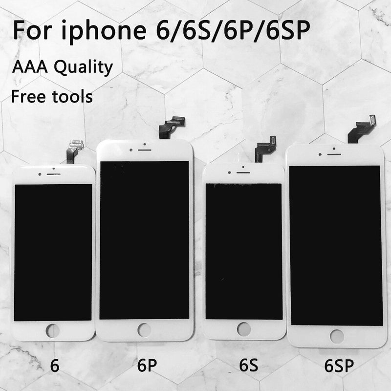 Lcd Replacement For iPhone 6 LCD Screen Digitizer Assembly Display Touch for iphone 6S screen AAA Quality for iphone 6s plus lcd