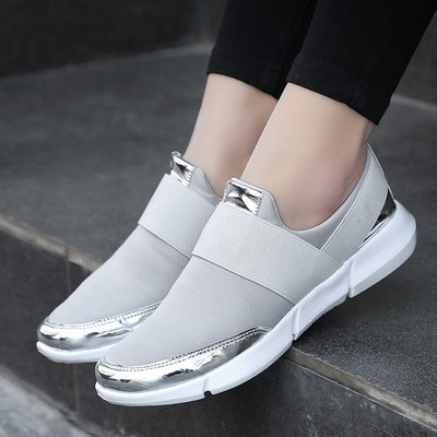 Women Flats shoes 2019 new woman Casual Shoes stripe Woman Loafers Shoes Mother dance square Sweet Walk Flat Shoes Zapatos Mujer