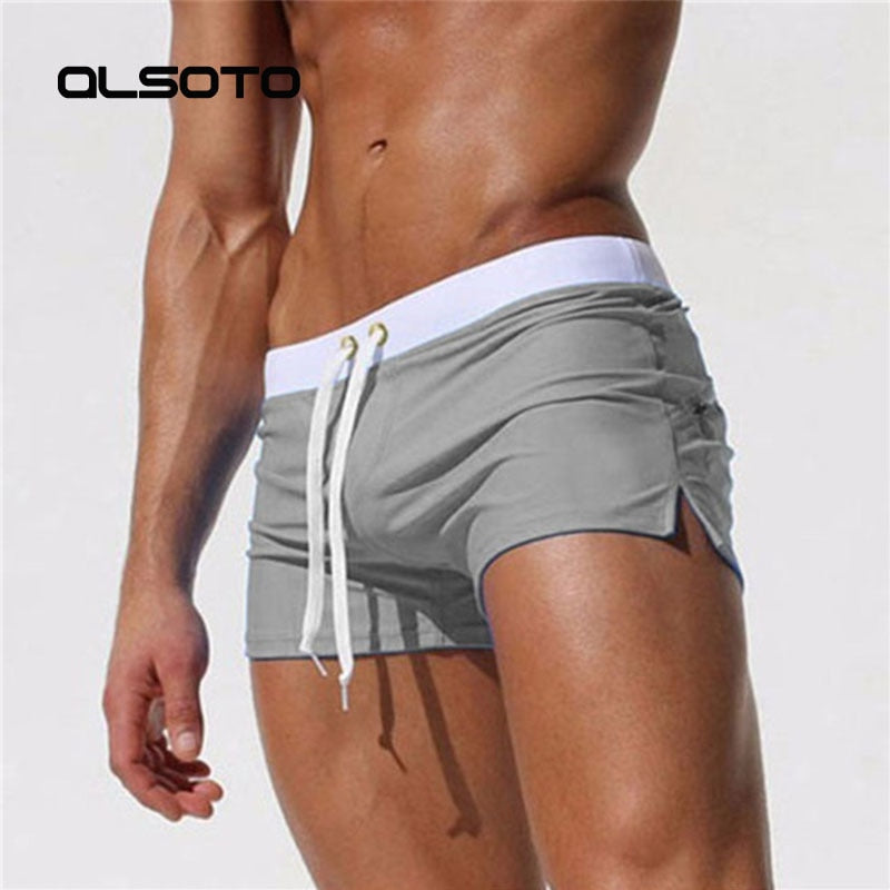 2019 Men Swimwear Sexy swimming trunks sunga swimsuit mens swim briefs Beach Shorts mayo sungas de praia homenszwembroek heren