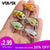 VTAVTA 5pcs 1.5g 3cm Mini Wobblers/Crankbait Fishing Lure Artificial Bait Hard Floating Wobbler for Fish Bass Fishing Tackle