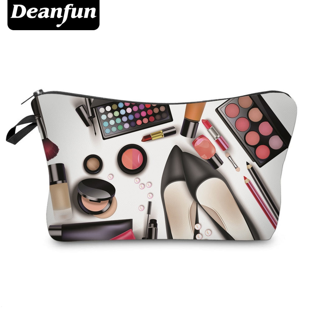 Deanfun Women Cosmetic Bags 3D Printed Makeup Pattern New Fashion Necessaries for Organizer Toiletry 50952