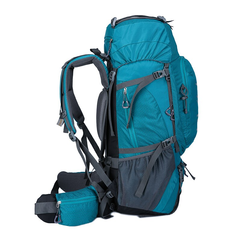 60L Waterproof Climbing Hiking Outdoor Backpack Women&Men Bag Camping Mountaineering Backpack Sport Bike Travel Bags