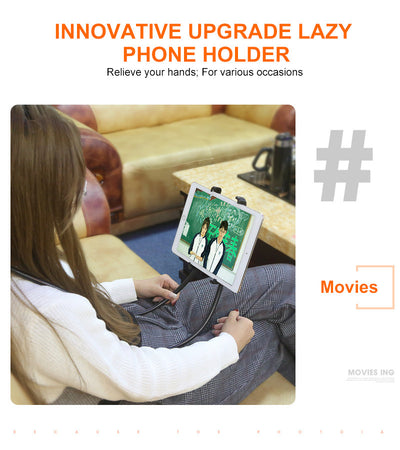 Neck Phone car Holder Stand For iPhone ipad or tablet