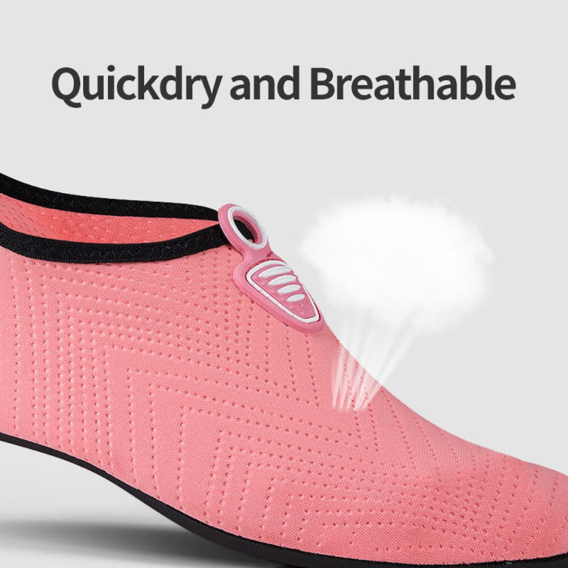 Men Women Beach Summer Outdoor Wading Shoes Swimming Surf Sea Slippers Quick-Dry Aqua Shoes Unisex Soft foldable Water Shoes