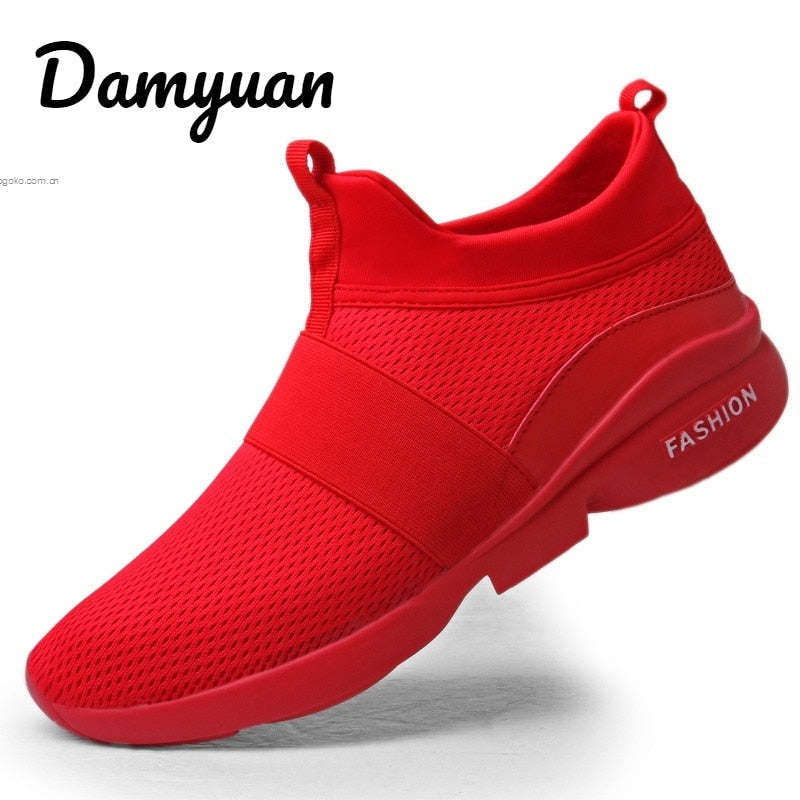 Damyuan 2019 New Fashion Classic Shoes Men Shoes Women Flyweather Comfortable Breathabl Non-leather Casual Lightweight Shoes
