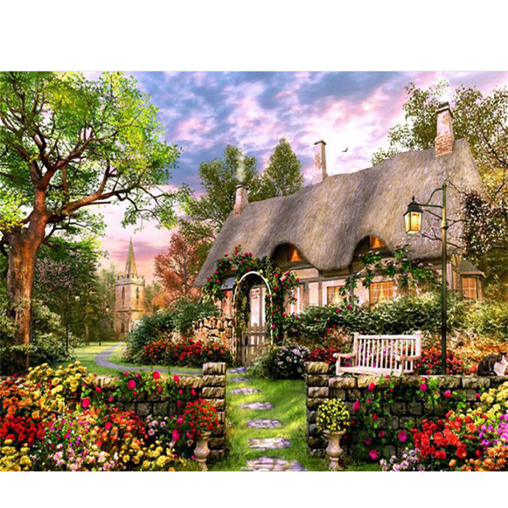 YANXIN DIY Framed Painting By Numbers Oil Paint Photo Wall Art Digital Pictures Painting Decor For Home Decoration Gifts Y5388