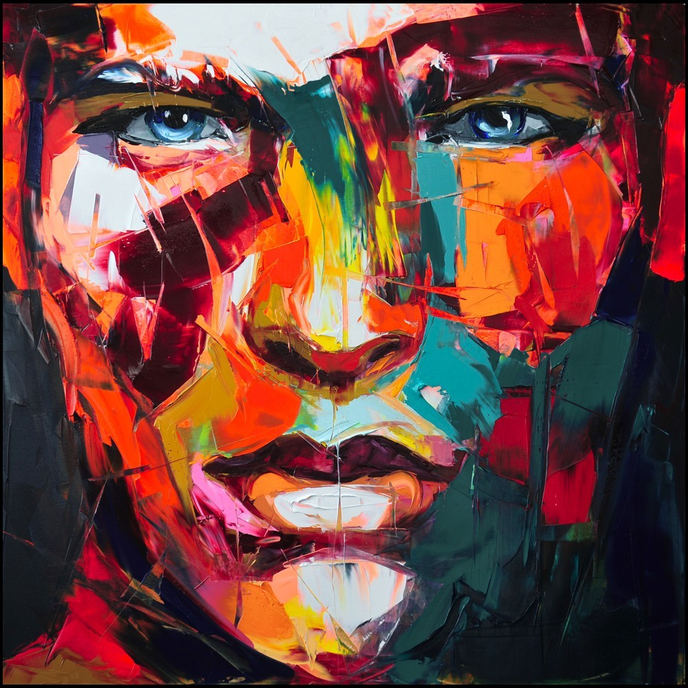 Oil Painting Canvas Francoise Nielly