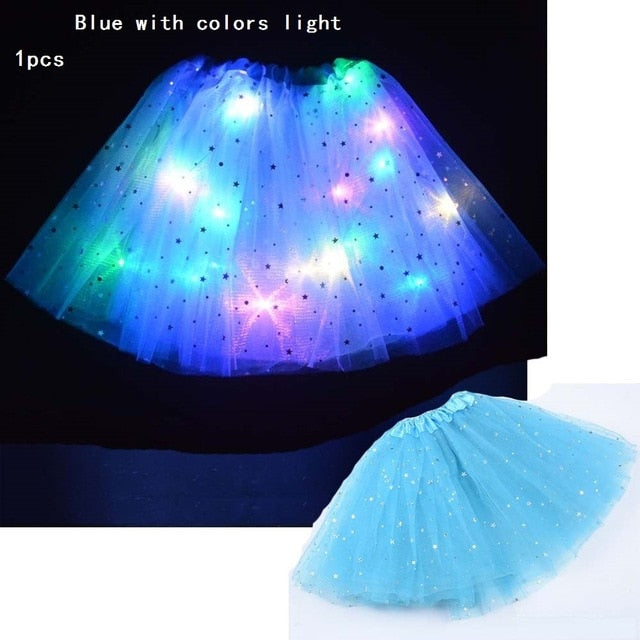 Light LED Skirt for Girls