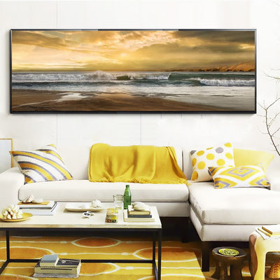 Modern Abstract Landscape Poster