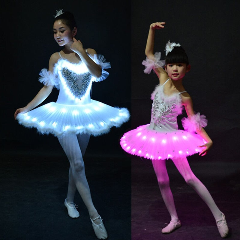 Swan lake Adult & Kids Ballet Party Dance Costume