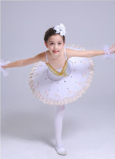 New Professional Led Light Swan Lake Ballet Tutu Costume