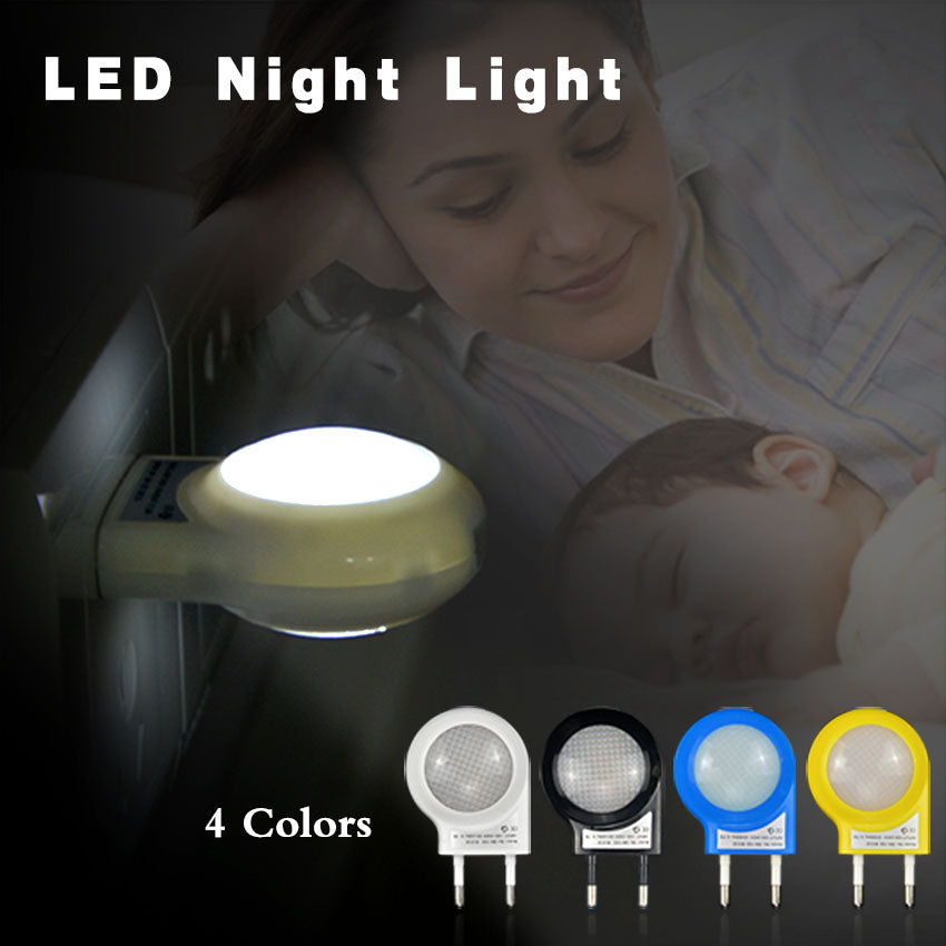 Smart Baby Bedroom Auto Sensor Lamp  AC110V / 220V 0.7W