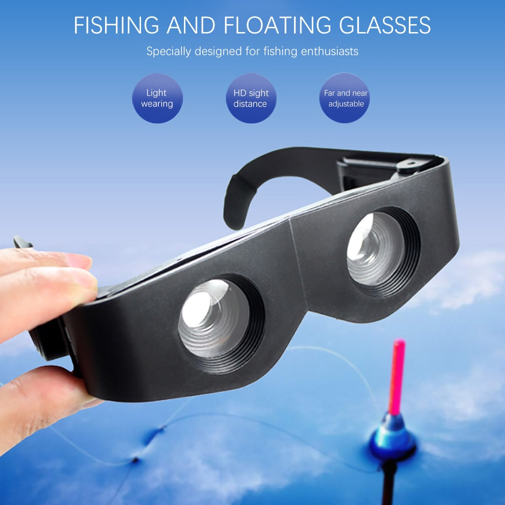 Black Telescope & Magnifier For Fishing