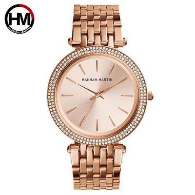 Diamond Female Clock Relogio Feminino