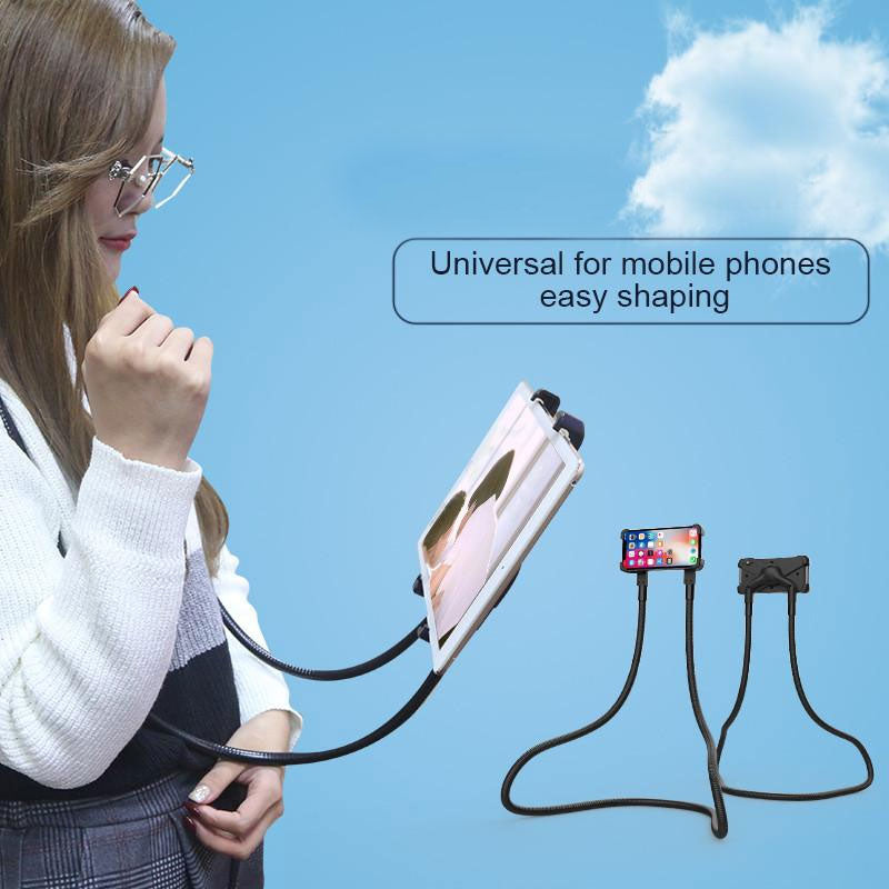 Neck Phone Stand For iPhone ipad or tablet