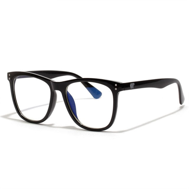 Vintage Anti Blue ray Glasses Frame Women Reading Goggle Blue Light Proof Glasses Computer Transparent Optical Eyewear