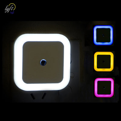 Mini Square Night Lights For Baby Room Bedroom Corridor Lamp