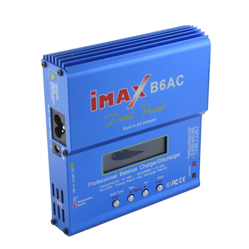 iMAX B6AC 80W 6A AC/DC Dual Power Lipo Battery Balance Charger