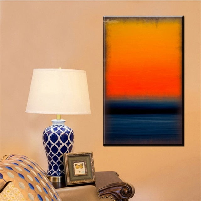 Mark rothko famous abstract paintings canvas