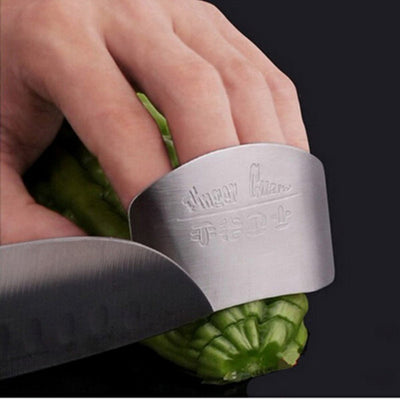 Stainless Steel Finger Knife Slice Protector
