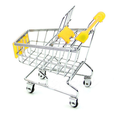 Simulation Shopping cart toy