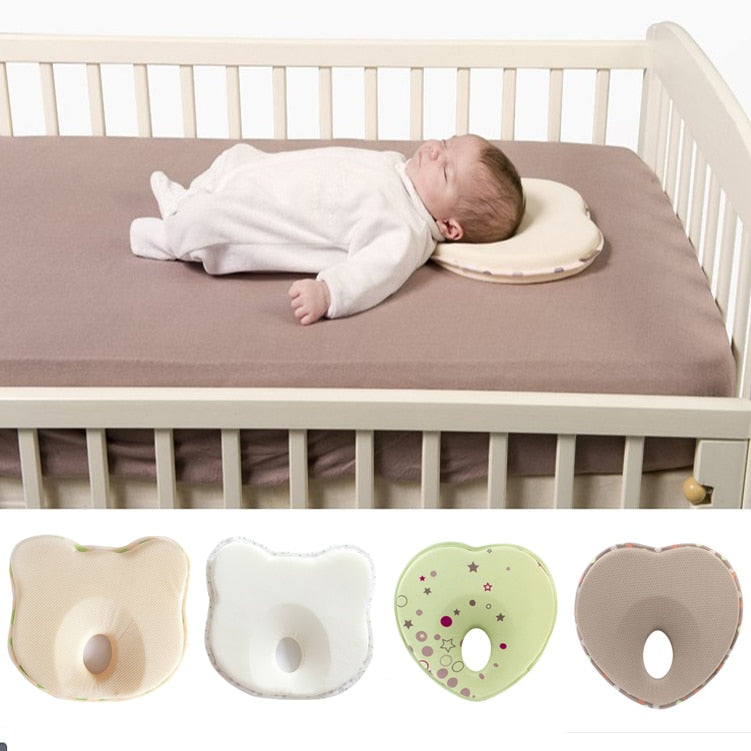 Baby pillow infant shape