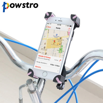 Powstro Universal 360 Rotate Phone Holder Bicycle Bike Handlebar