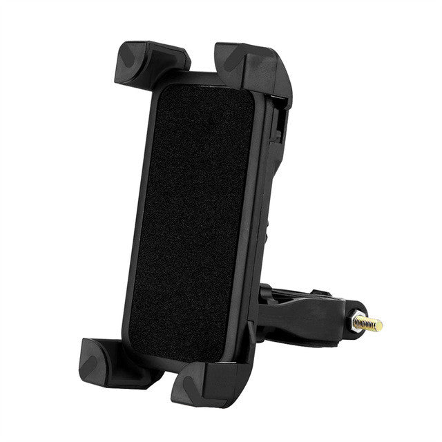 Powstro Universal 360 Rotate Phone Holder Bicycle Bike Handlebar Clip Stand Mount Bracket For iPhone 3.5-6.5 inch Phones Holder