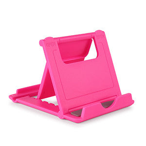Powstro Foldable Lazy Mobile Phone Foldable Mini Cell Phone Stand Holder For HTC For iPhone 5/4/4S 6 7 For Samsung For Xiaomi