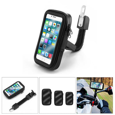 Powstro Waterproof Cell Phone Holder Universal Anti Rain Snow