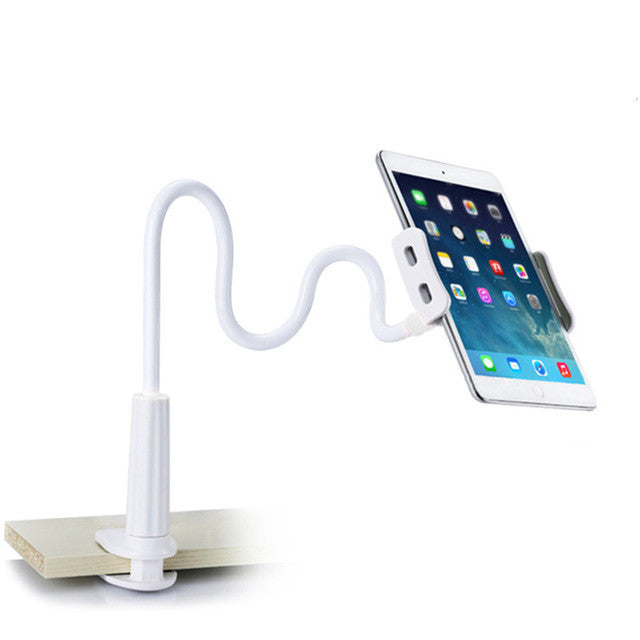 Powstro Cell Phone Holder Flexible Long Arms Mobile Phone Holder Desktop Bed Lazy Bracket Mobile Stand Support for iPhone IPad