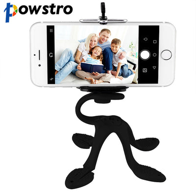 Powstro Phone Holder Mini Tripod Mount Holder