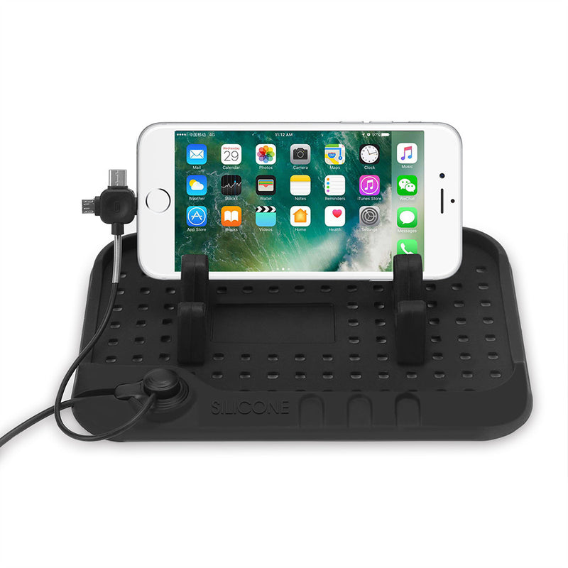 Non-slip Silicon Console Charging Mat Stand