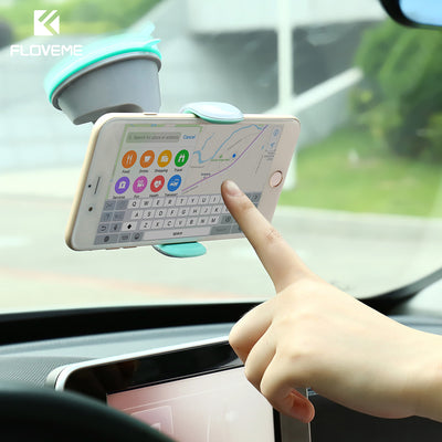 FLOVEME Universal Car Phone Holder 360 Degree Rotation