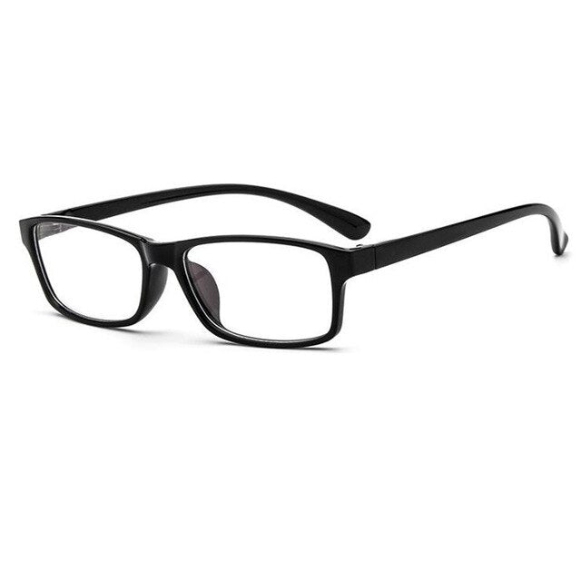 Anti Blue Ray Men Optical Vintage Square Frame Glasses