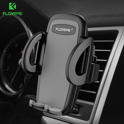 FLOVEME Car Phone Holder Stand For iPhone 5S SE 8 7 Plus X Samsung S8 Mobile