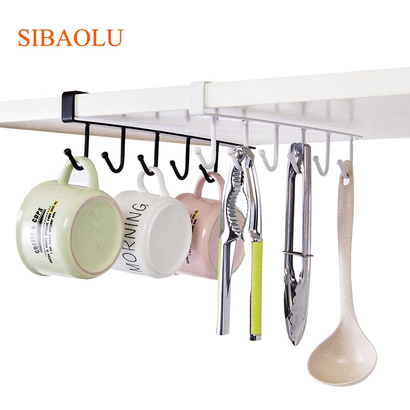 Hanging Coffee Cup Rack