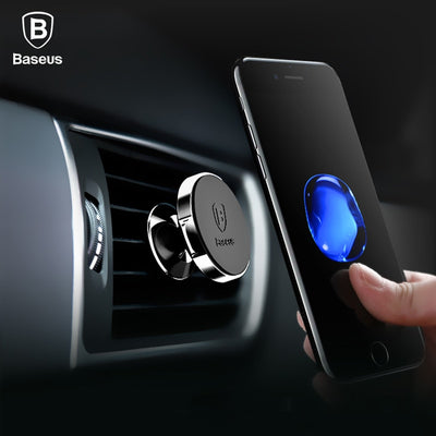 Baseus Magnetic Car Holder For iPhone X 8 Samsung
