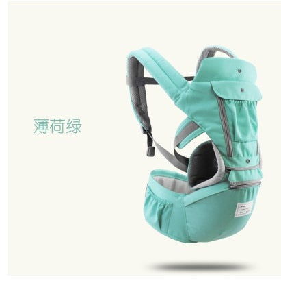 AIEBAO Breathable Ergonomic Baby Carrier Backpack