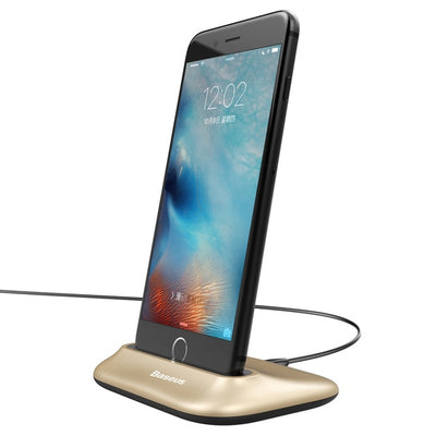 Baseus Desktop Charger For iPhone X 8 Desk Phone Dock Station Holder