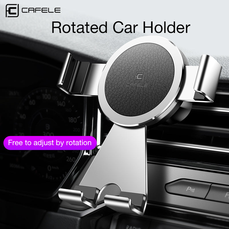 CAFELE Rotated Car Mobile Phone Holder