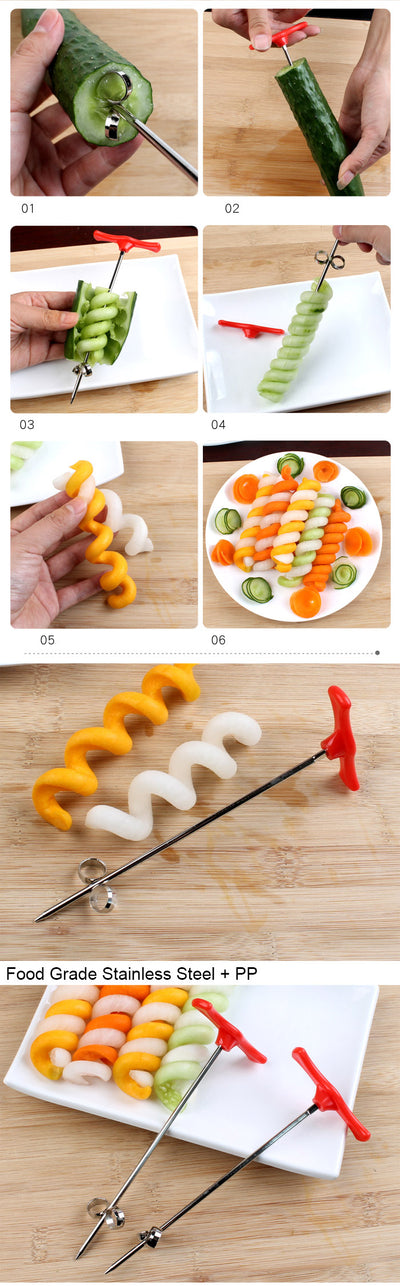 UPORS Vegetables Spiral Knife