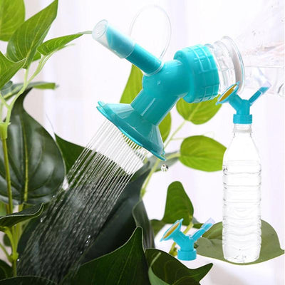2 In 1  Plastic Sprinkler Nozzle Watering Bottle