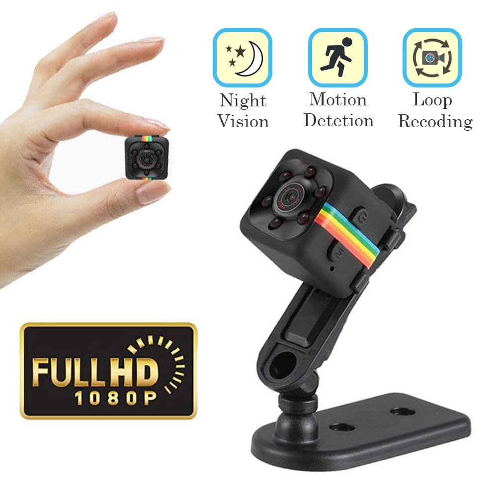 Mini Portable Camera Video with Night Vision and Motion Detection