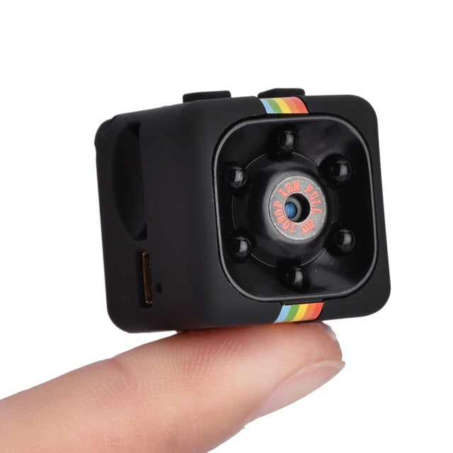 Small Portable Camera Video with Night Vision and Motion Detection