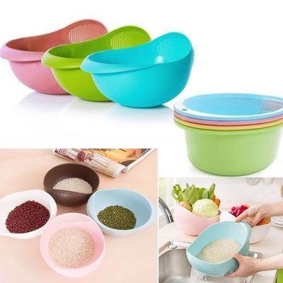 Rice, Veggie Fruit Cleaning Tools