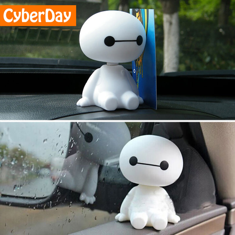 Cartoon Plastic Baymax Robot Shaking Head