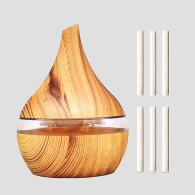 USB Electric Wooden Aroma Air Diffuser