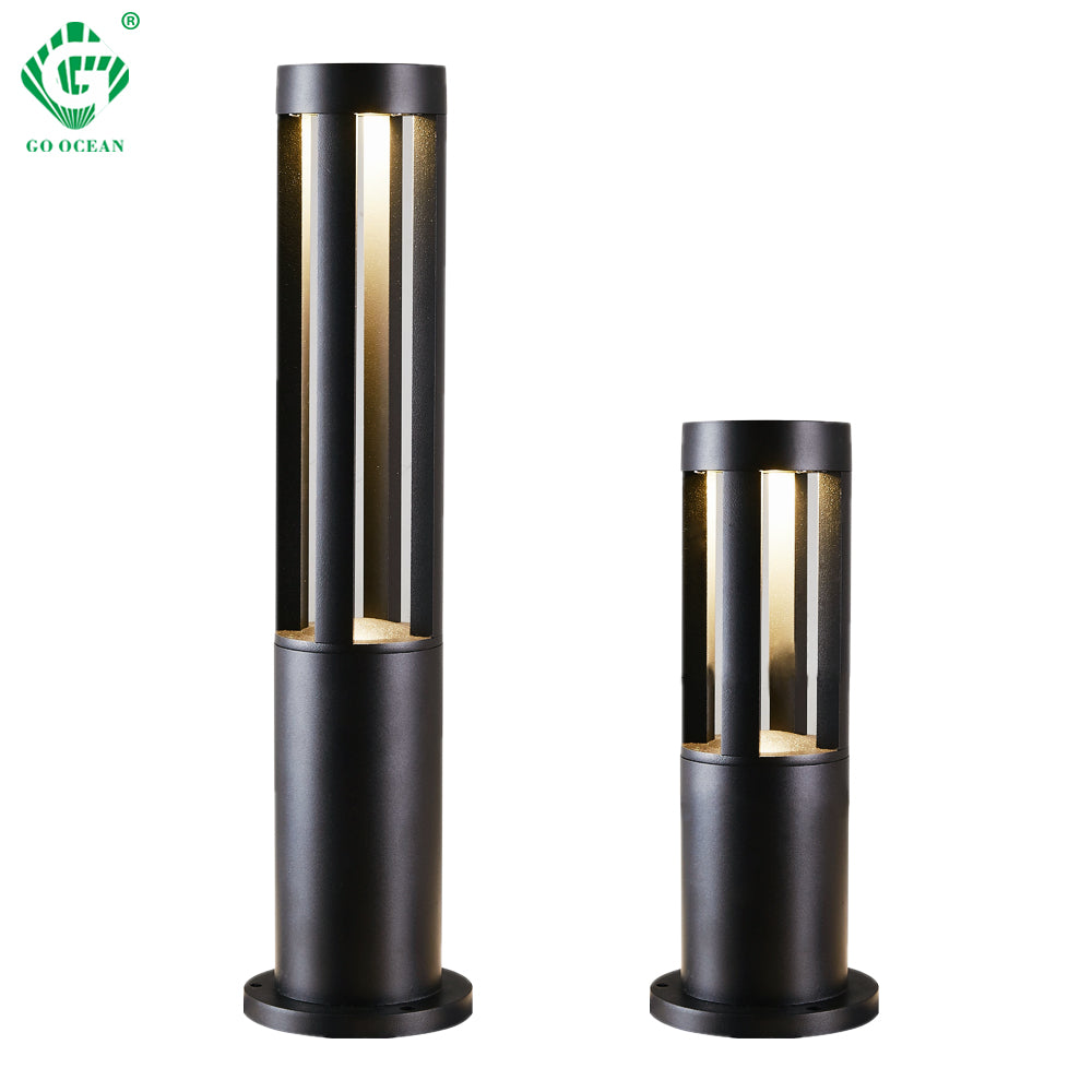 LED Landscape Garden Light Outdoor Waterproof for Lawn Decoration Yard Christmas Pathway Villa Garden Lighting Bollards Lamps